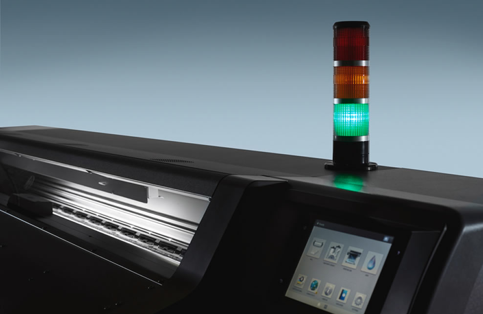HP Latex 570 Traffic Light